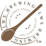 long wooden spoon brewing